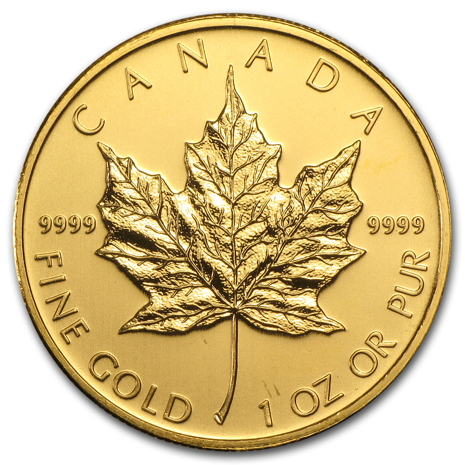2009 Canada 1 oz Gold Maple Leaf BU