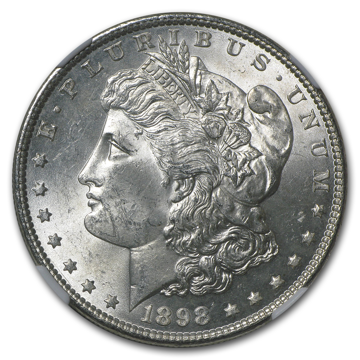 1898 Morgan Dollar MS-63 NGC