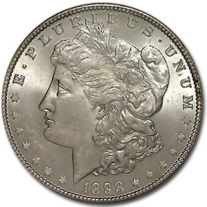 1898 Morgan Dollar - MS-63 NGC