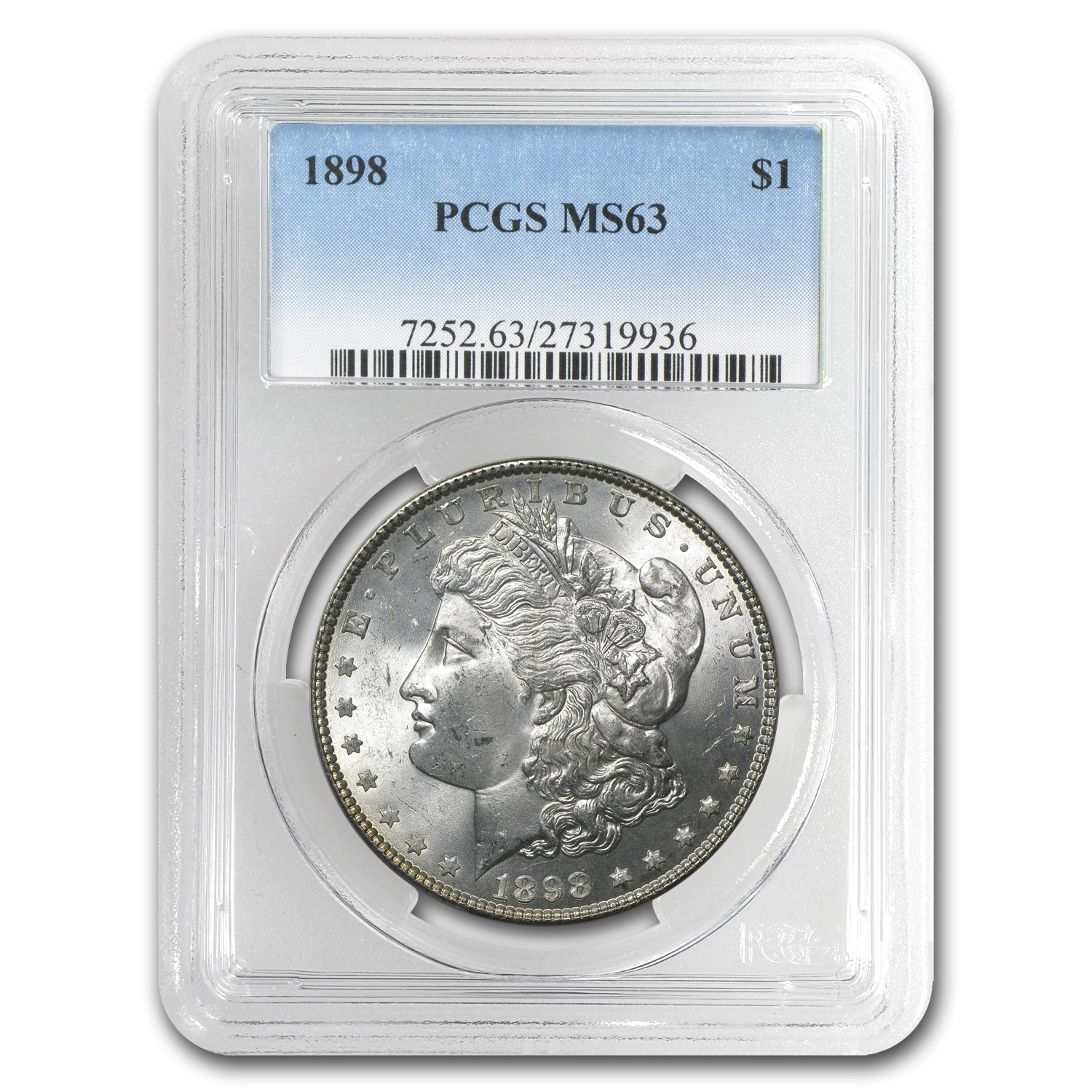 1898 Morgan Dollar MS-63 PCGS