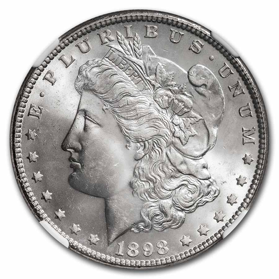 1898 Morgan Dollar MS-65 NGC