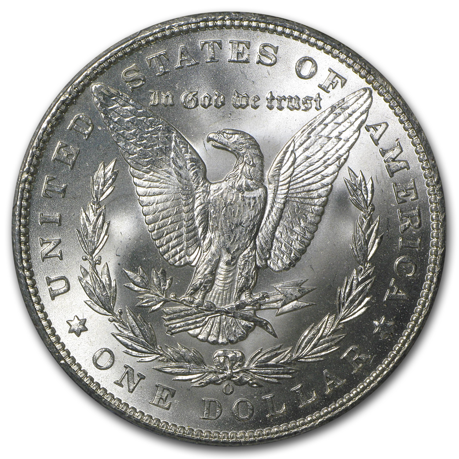 1898-O Morgan Dollar - MS-63 PCGS