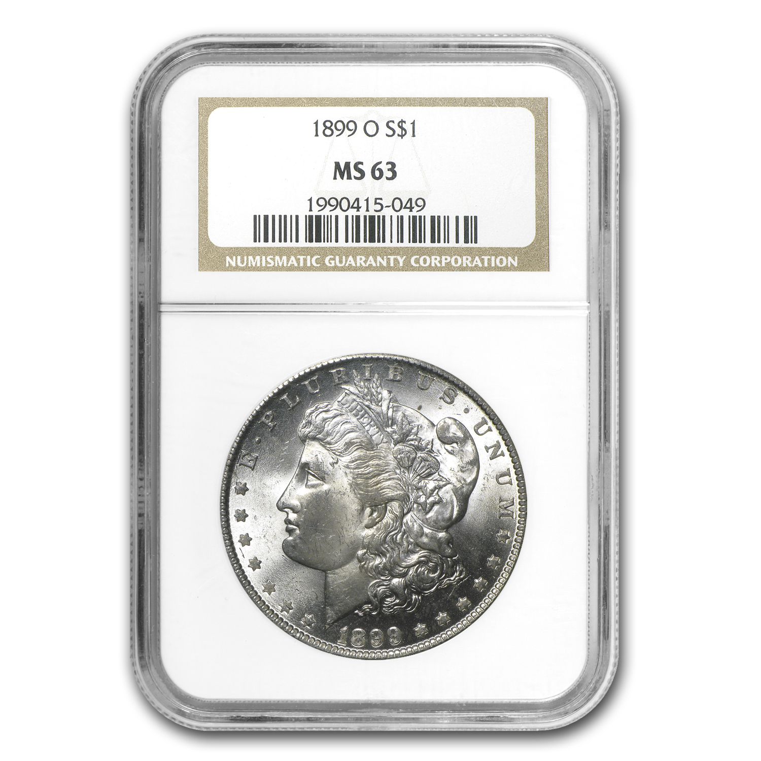 1899-O Morgan Dollar - MS-63 NGC