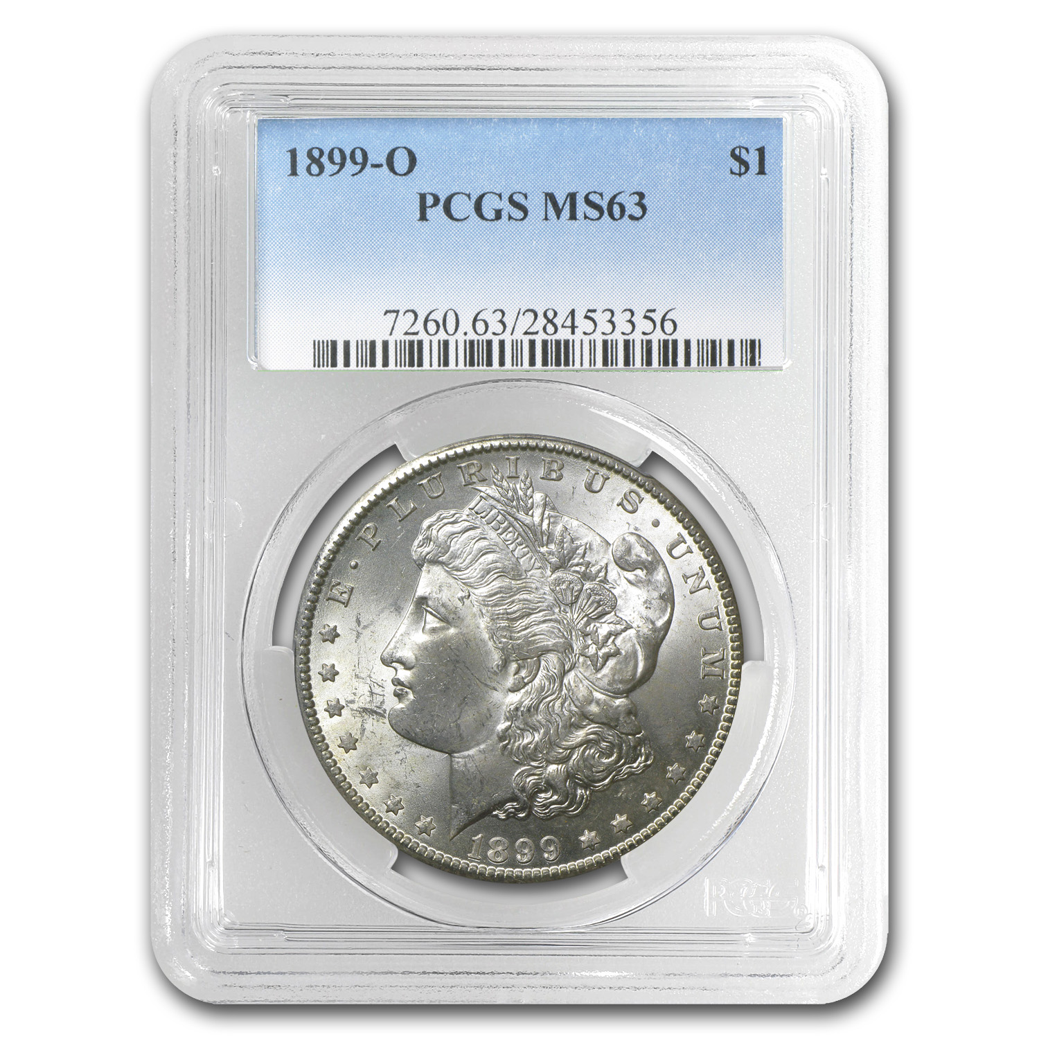 1899-O Morgan Dollar MS-63 PCGS