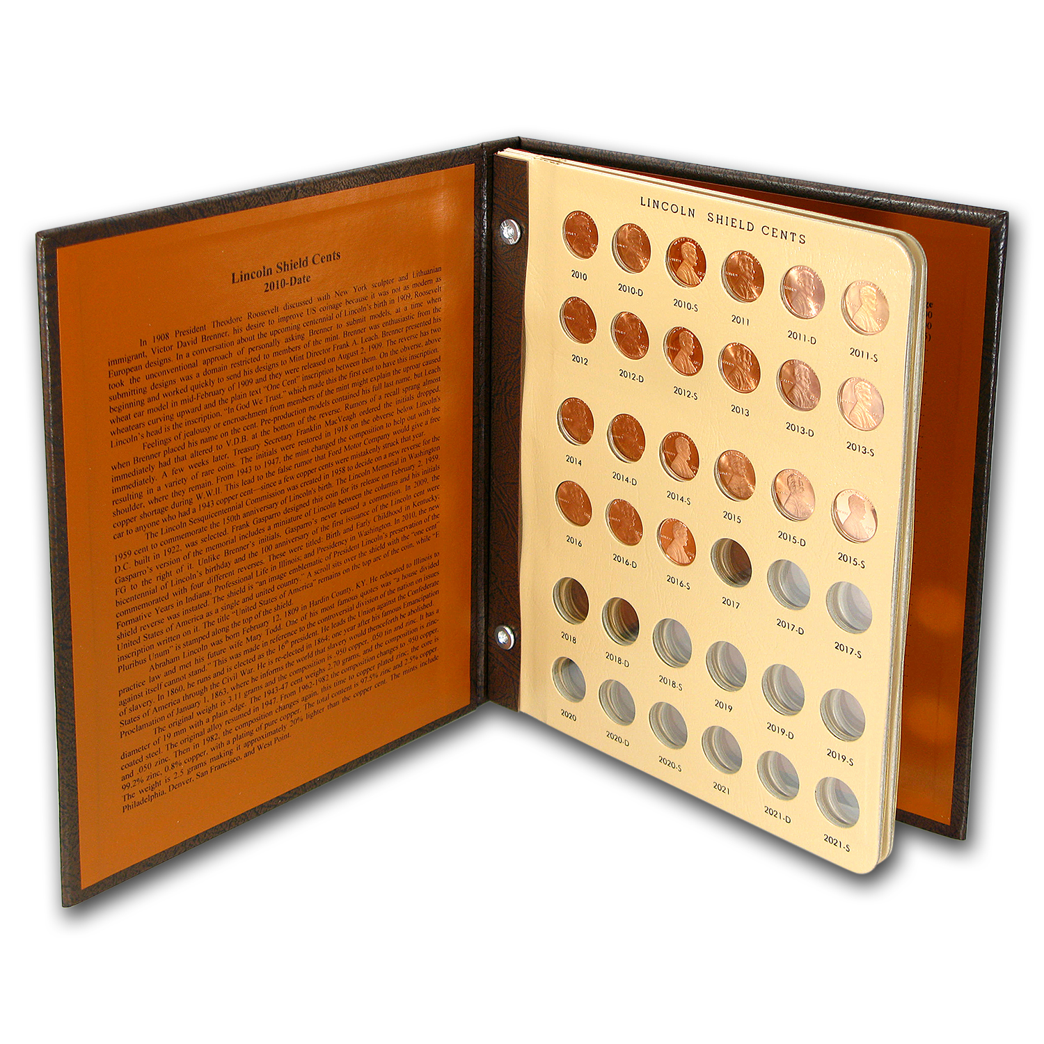 Near Complete Lincoln Cent Collection Dansco Album 1909-2009