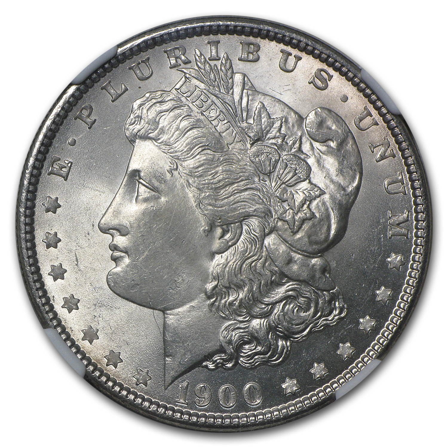 1900 Morgan Dollar MS-63 NGC