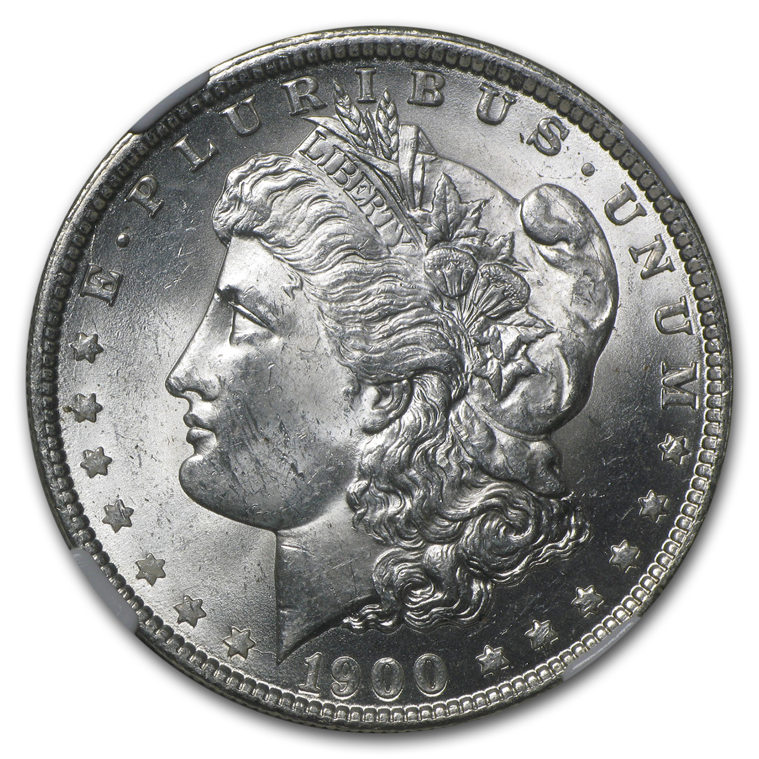 1900-O Morgan Dollar - MS-63 NGC