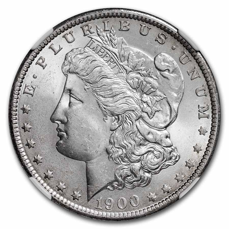 1900-O Morgan Dollar MS-64 NGC