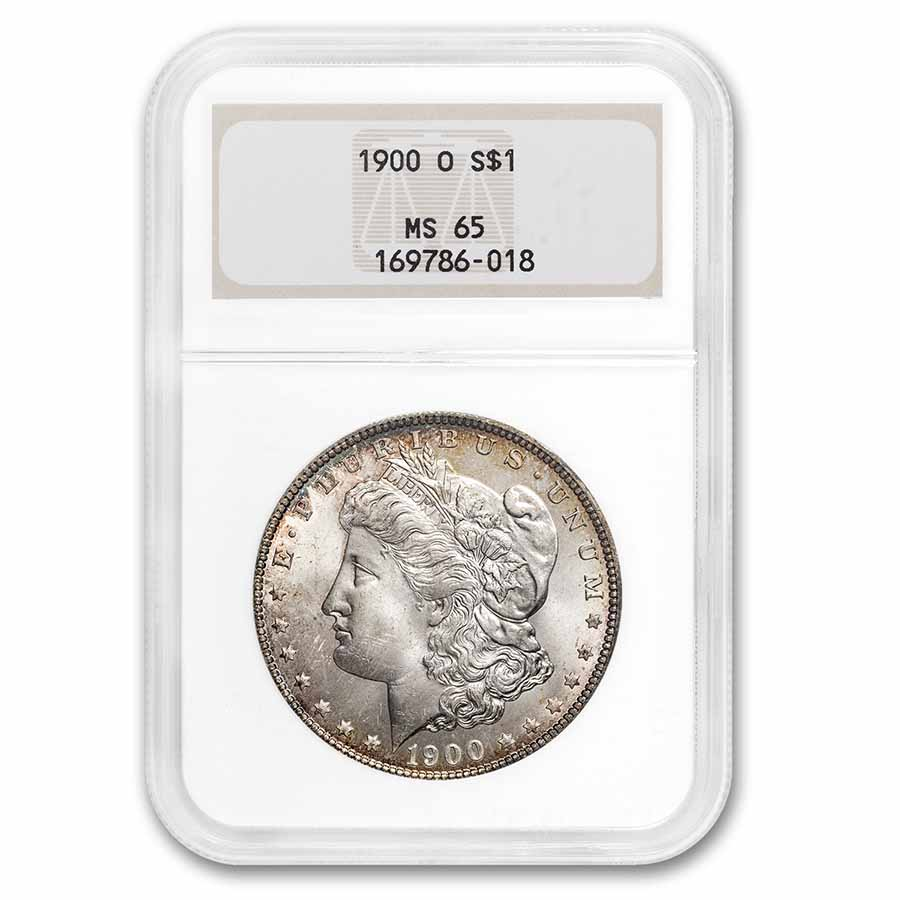 1900-O Morgan Dollar MS-65 NGC