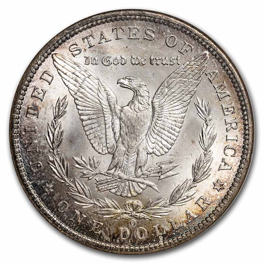 1900-O Morgan Dollar - MS-65 NGC
