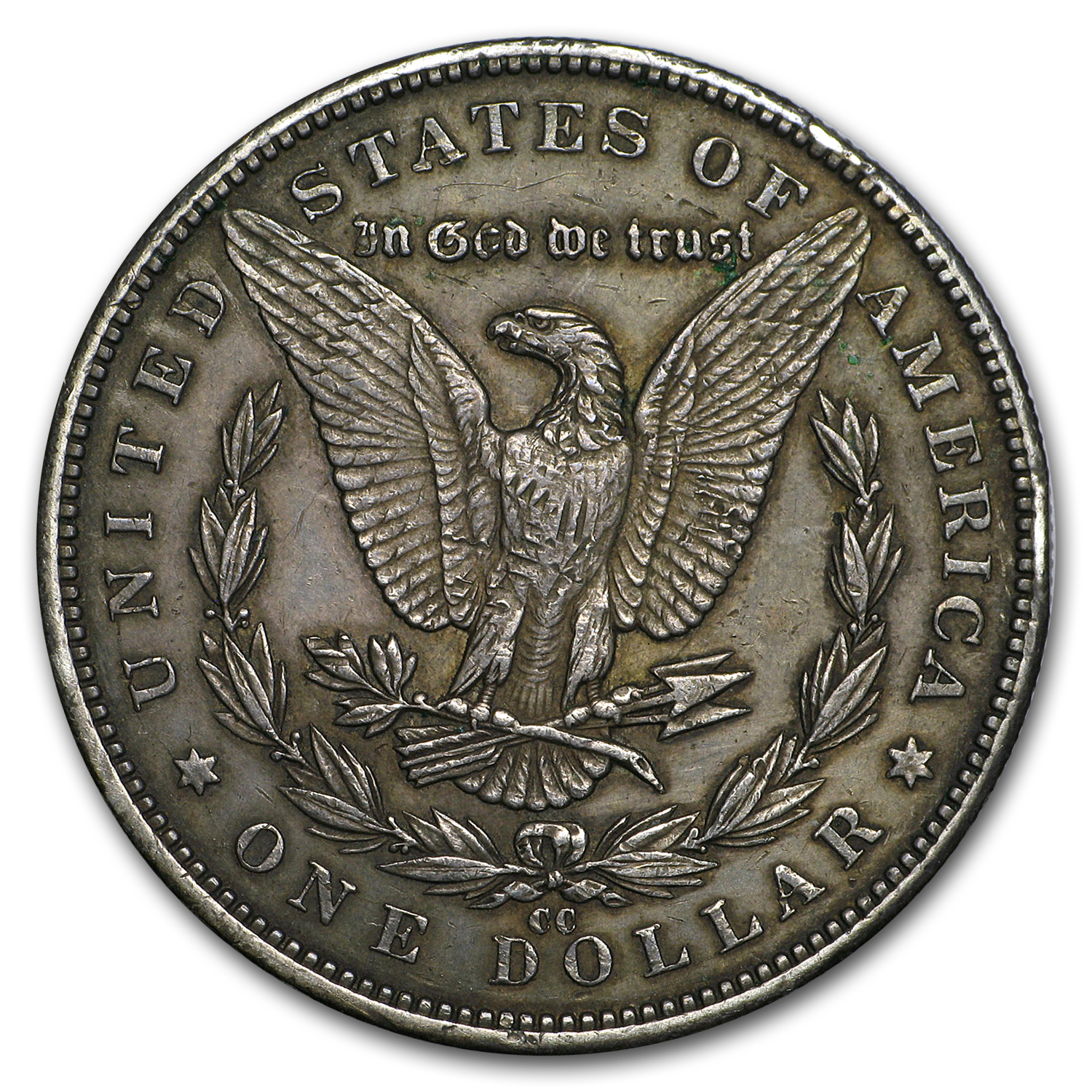 1884-CC Morgan Dollar VF
