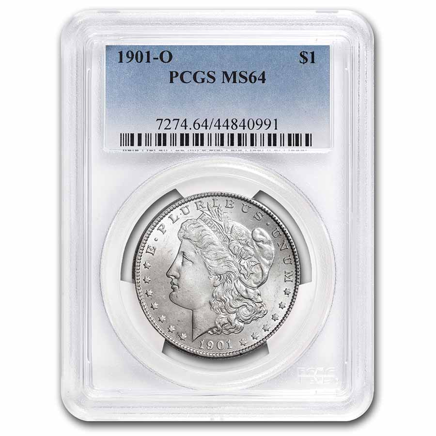 1901-O Morgan Dollar - MS-64 PCGS