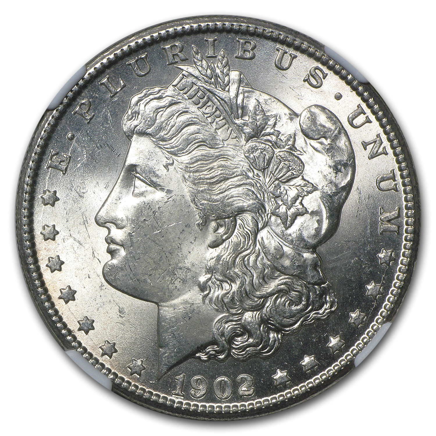 1902-O Morgan Dollar - MS-63 NGC