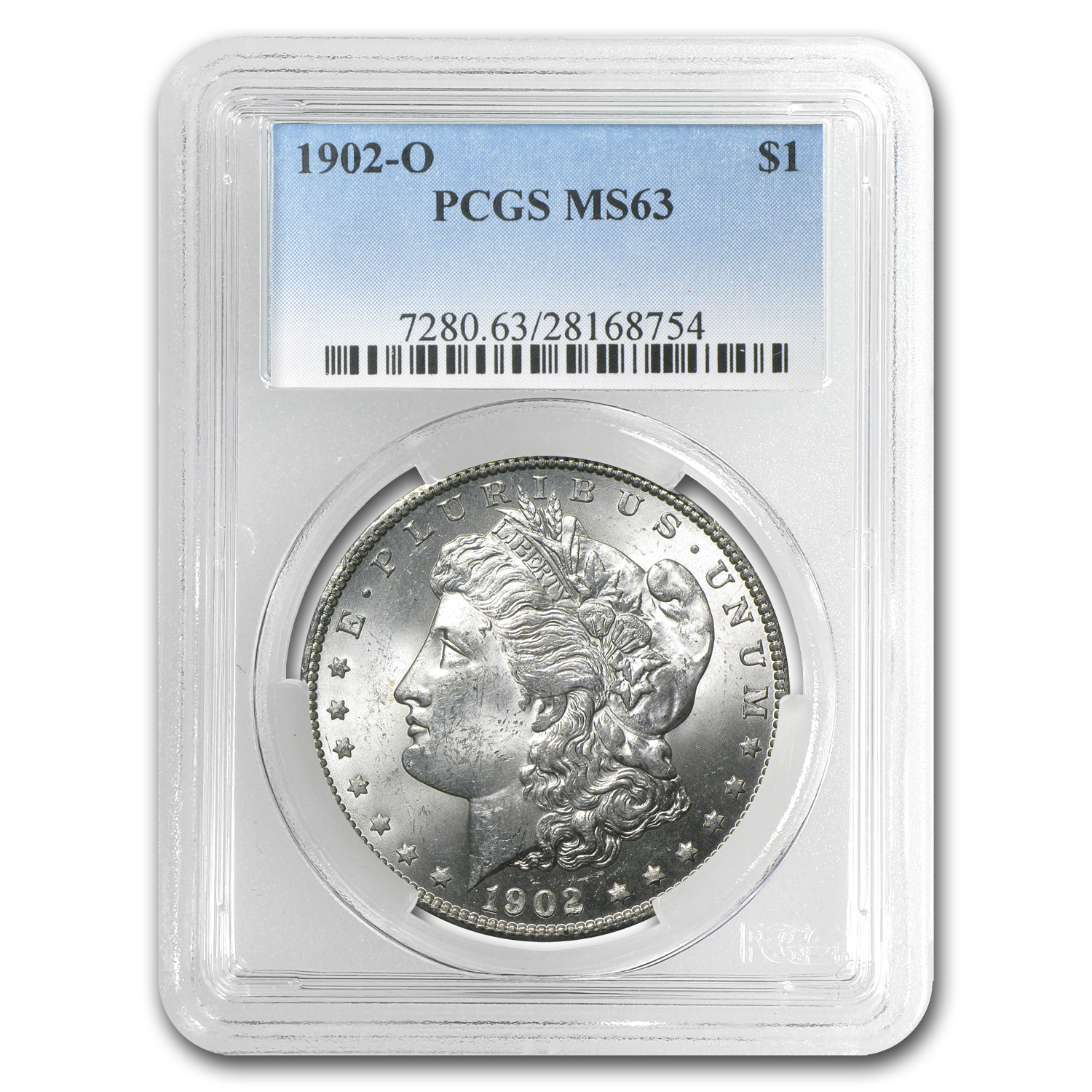 1902-O Morgan Dollar MS-63 PCGS