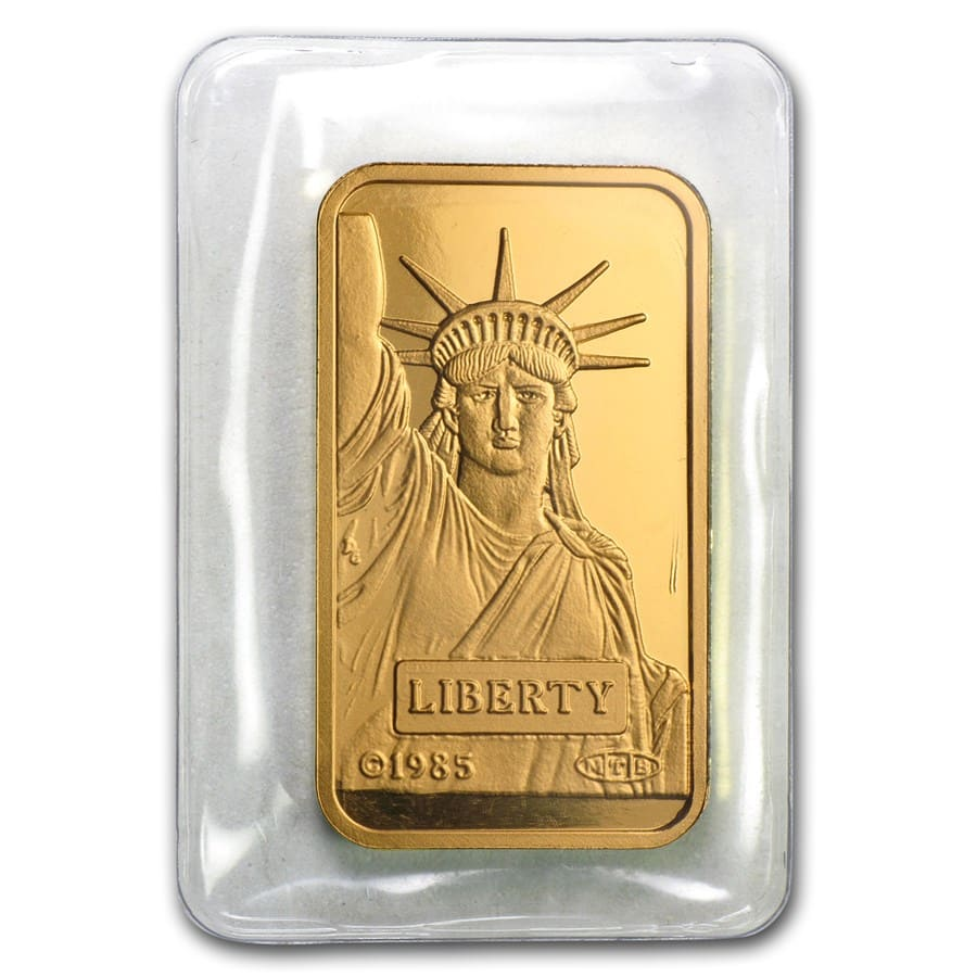 20 gram Gold Bars - Credit Suisse (Statue of Liberty)