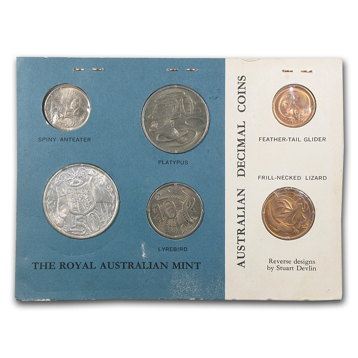 1966 Australia 6 Coin Mint Set BU