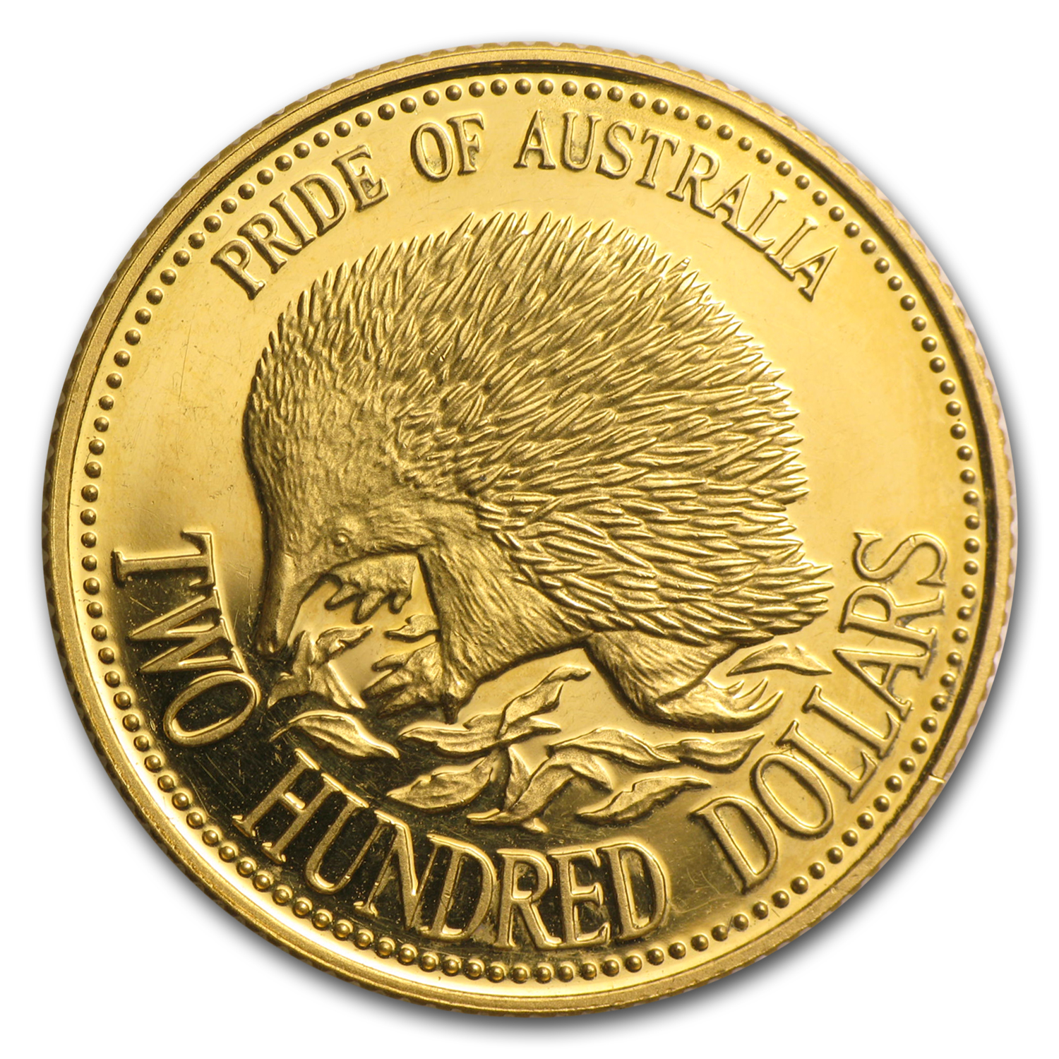 Australia 1992 $200 Gold Proof - Echidna