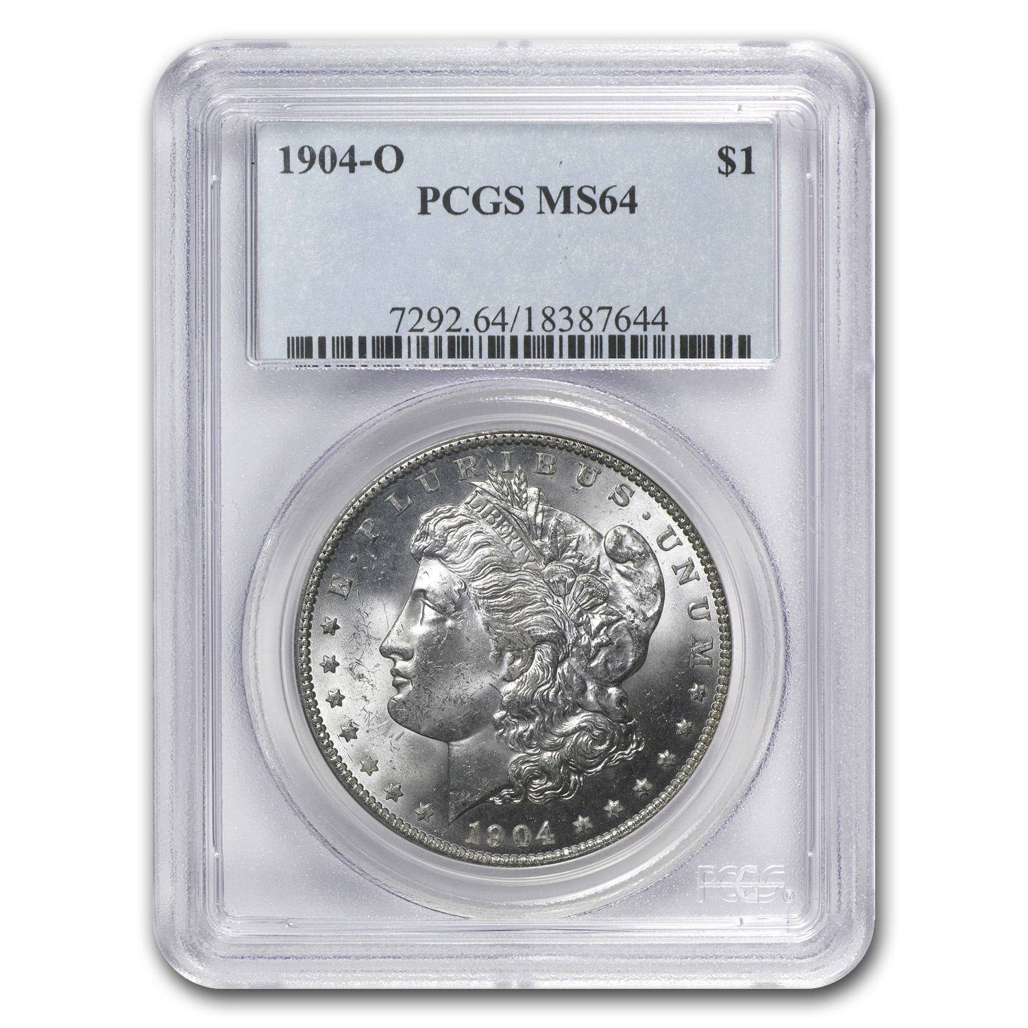 1904-O Morgan Dollar - MS-64 PCGS