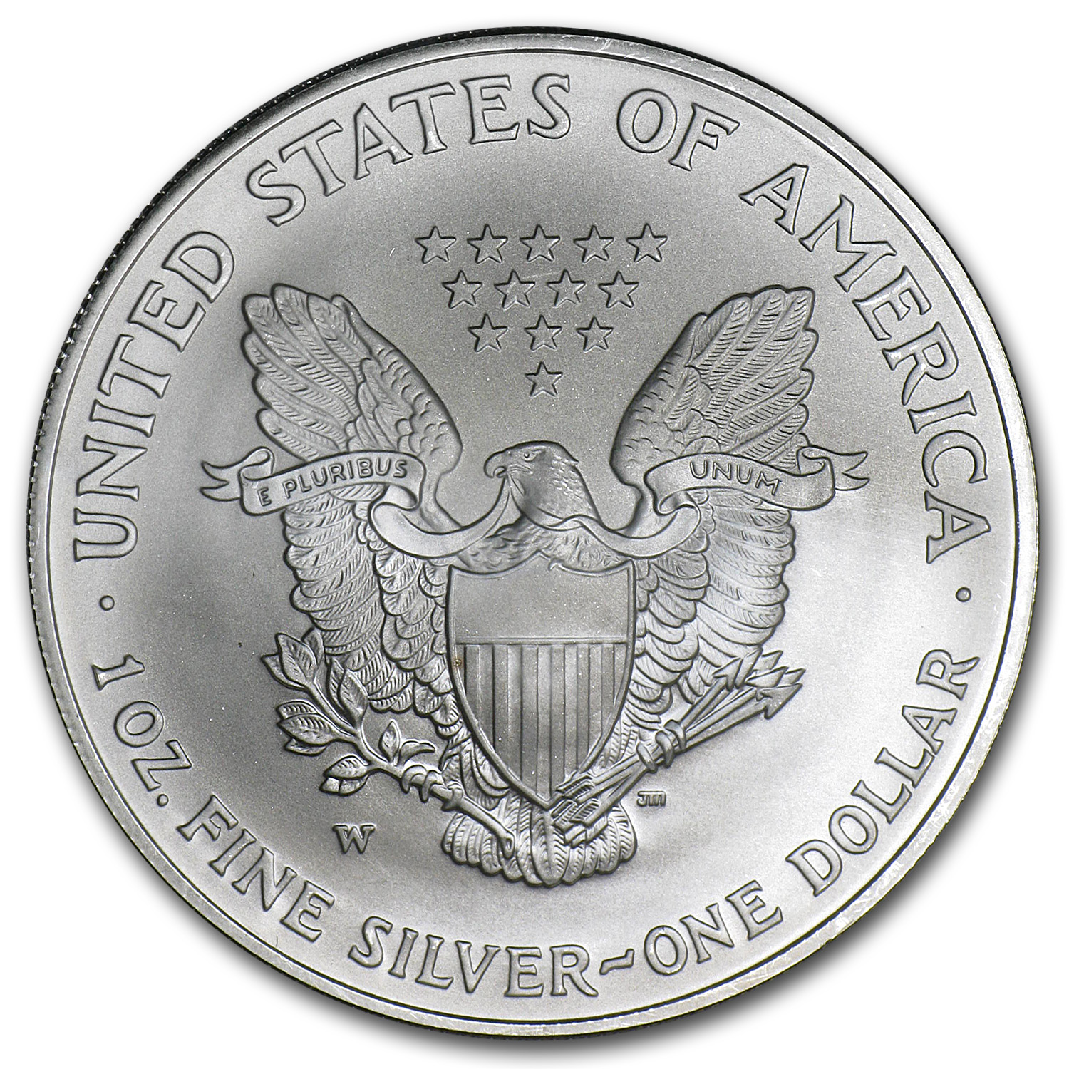 2006-W Burnished Silver American Eagle (Capsule Only)