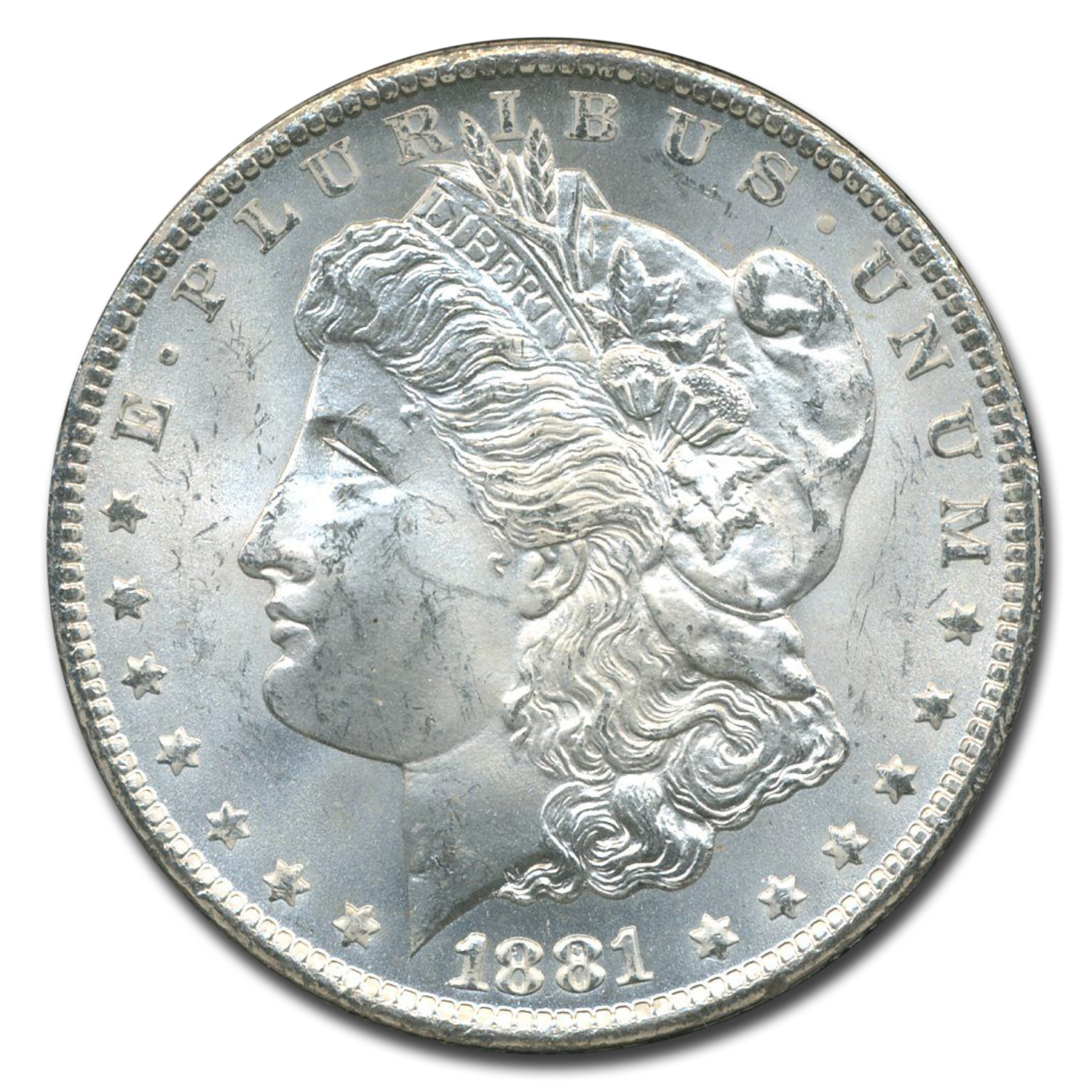 1881-CC Morgan Dollar MS-63 NGC (GSA Certified)