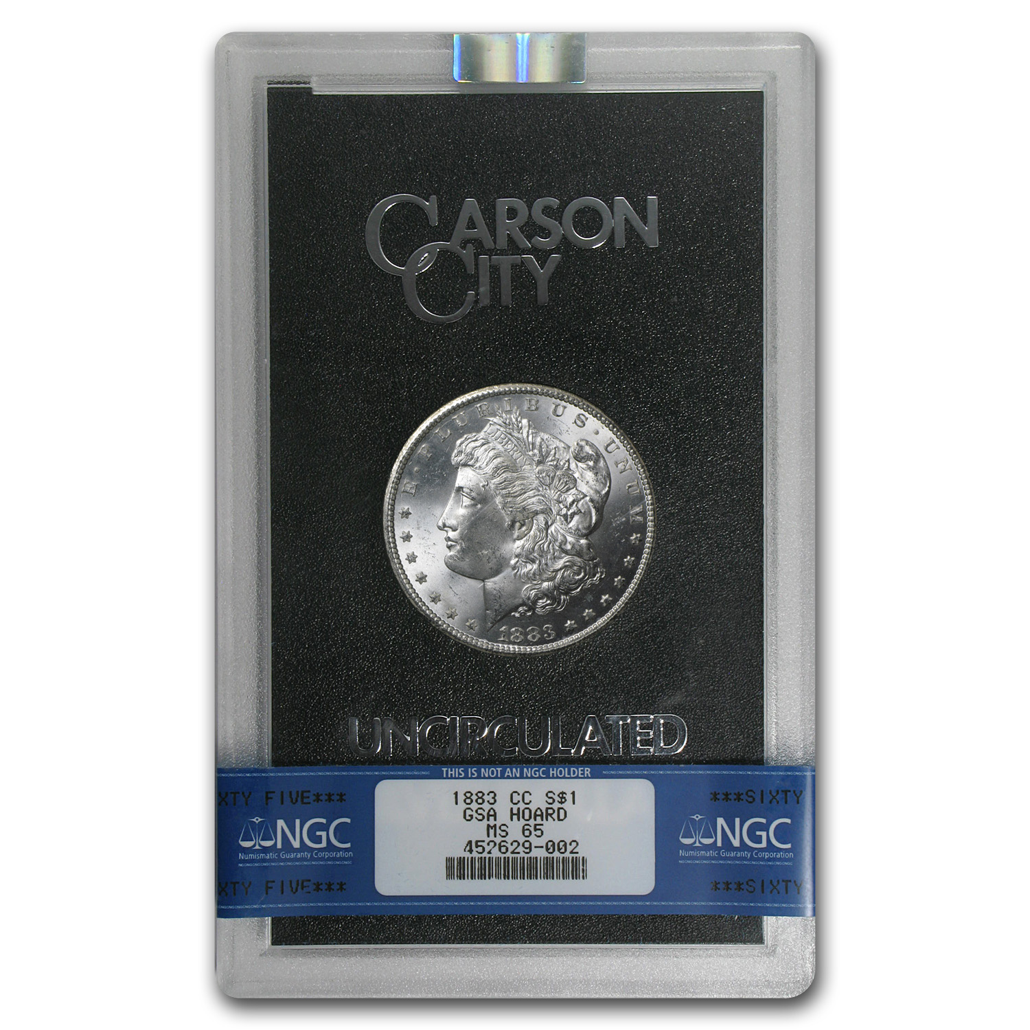 1883-CC Morgan Dollar MS-65 NGC - GSA Certified