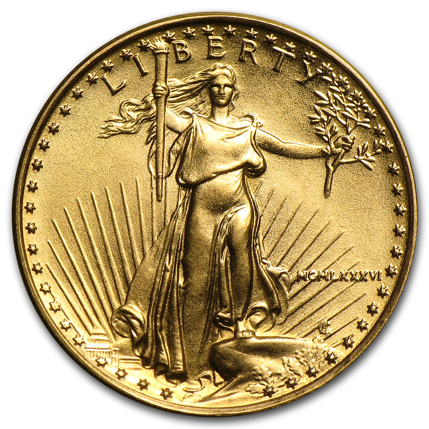 1986-2016 31-Coin 1/10 oz Gold Eagle Set BU (Dansco Album)