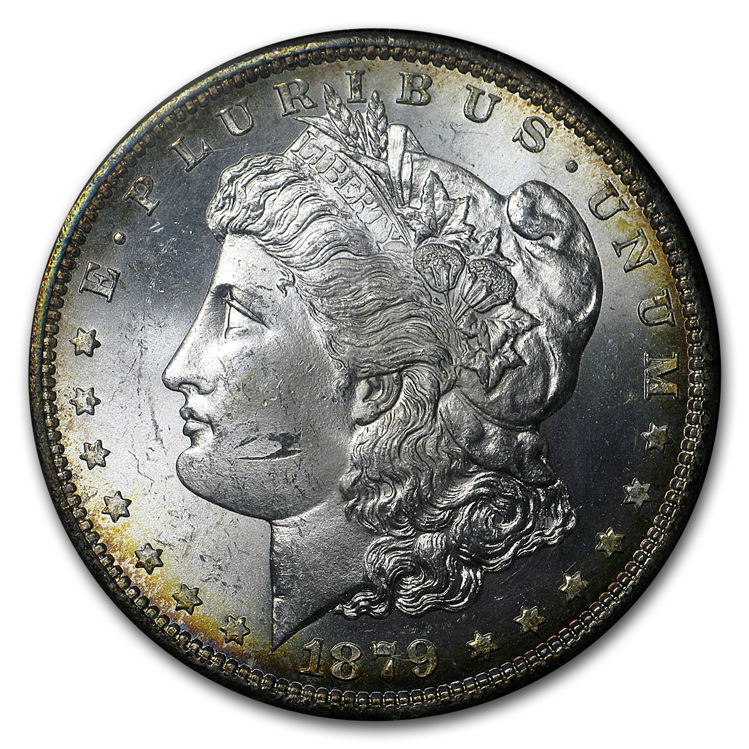 1879-S Morgan Dollar MS-65 (Redfield Hoard)
