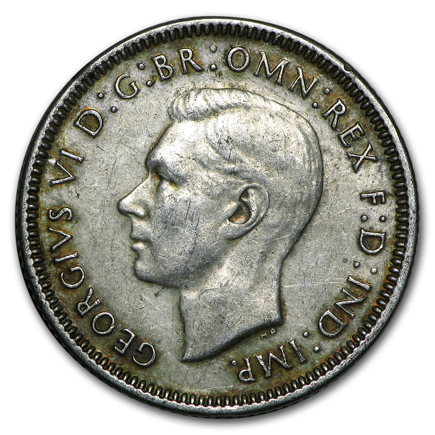 Australia 1938-1944 Silver Shillings of George VI