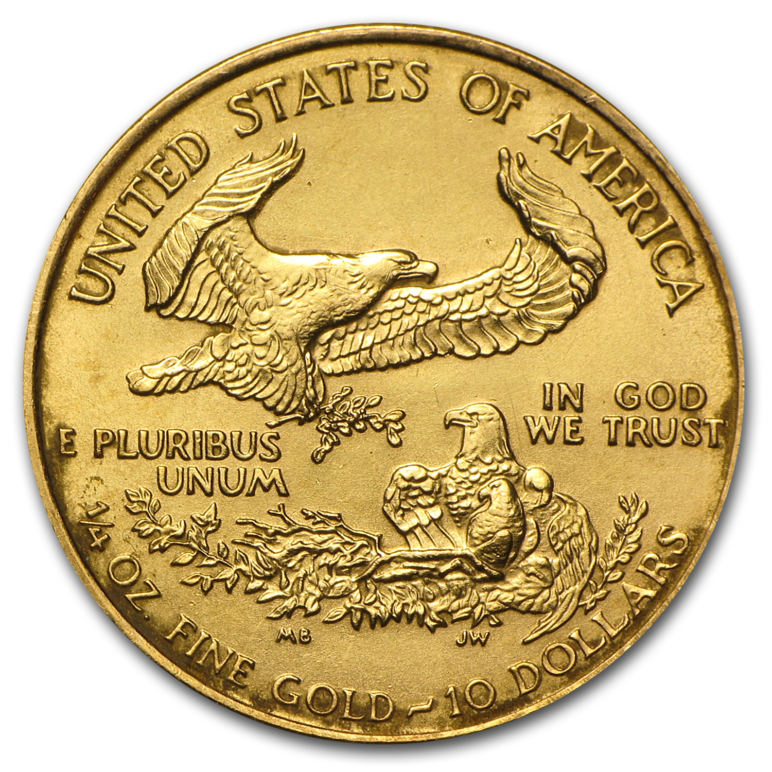 1994 1/4 oz Gold American Eagle (BU)