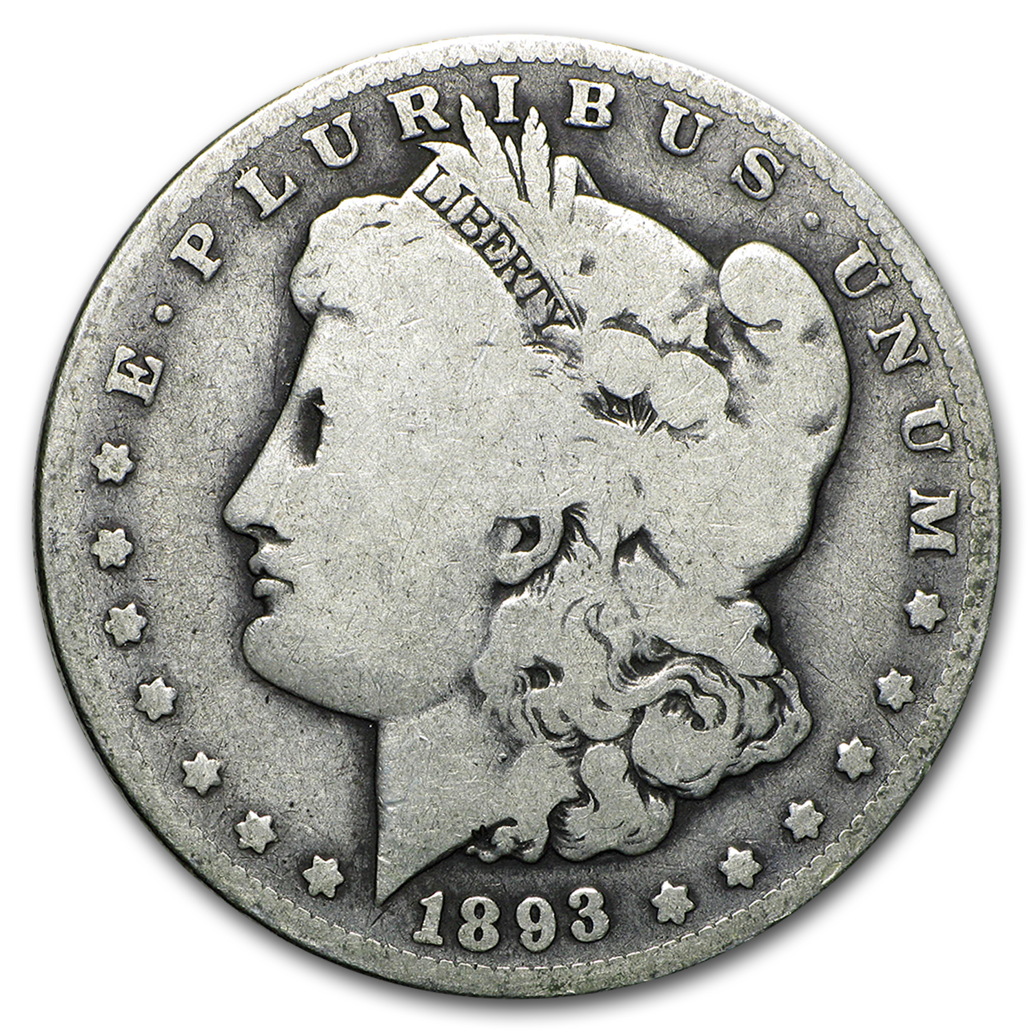 1893-O Morgan Dollar - Good