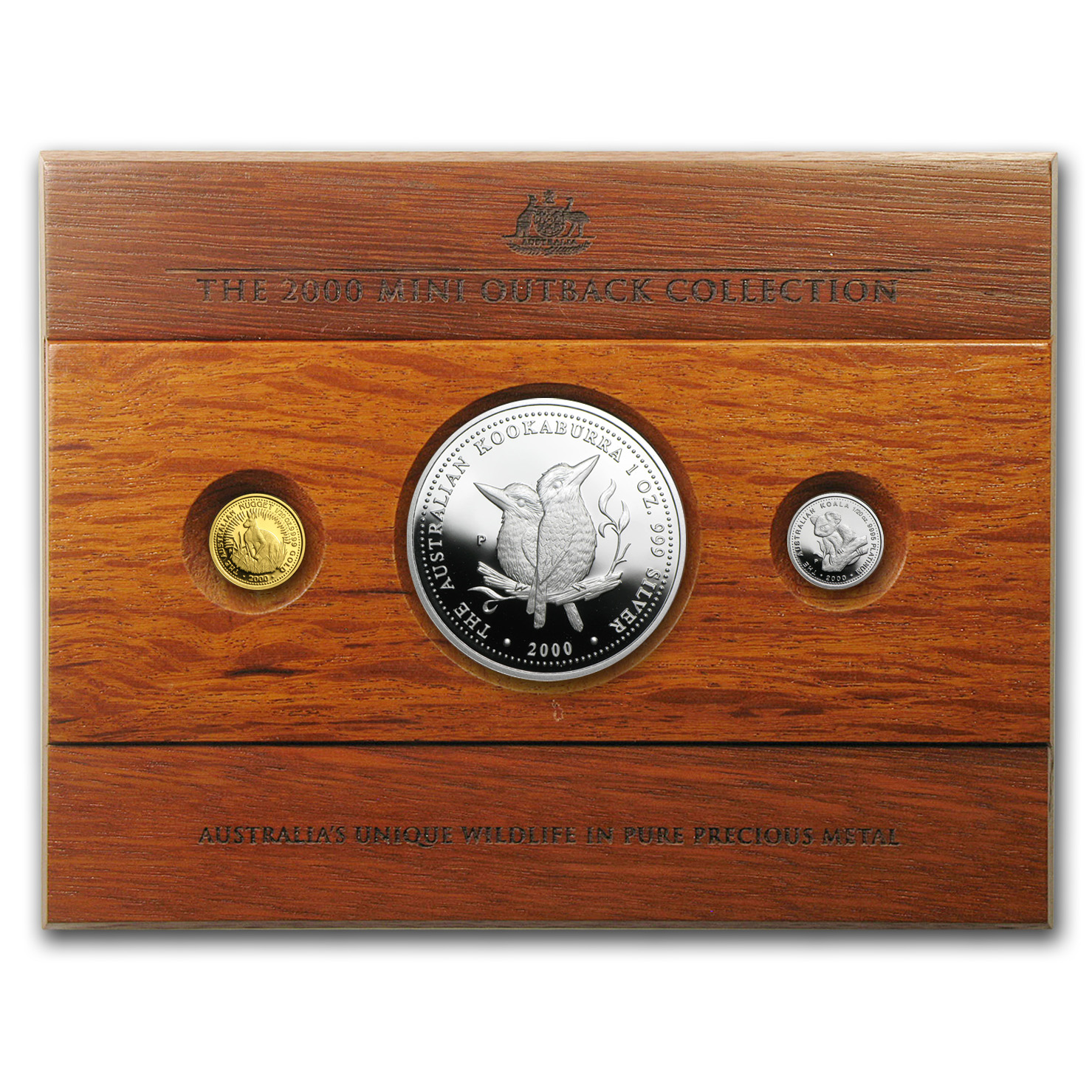 2000 Australia 3-Coin Proof Mini Outback Collection
