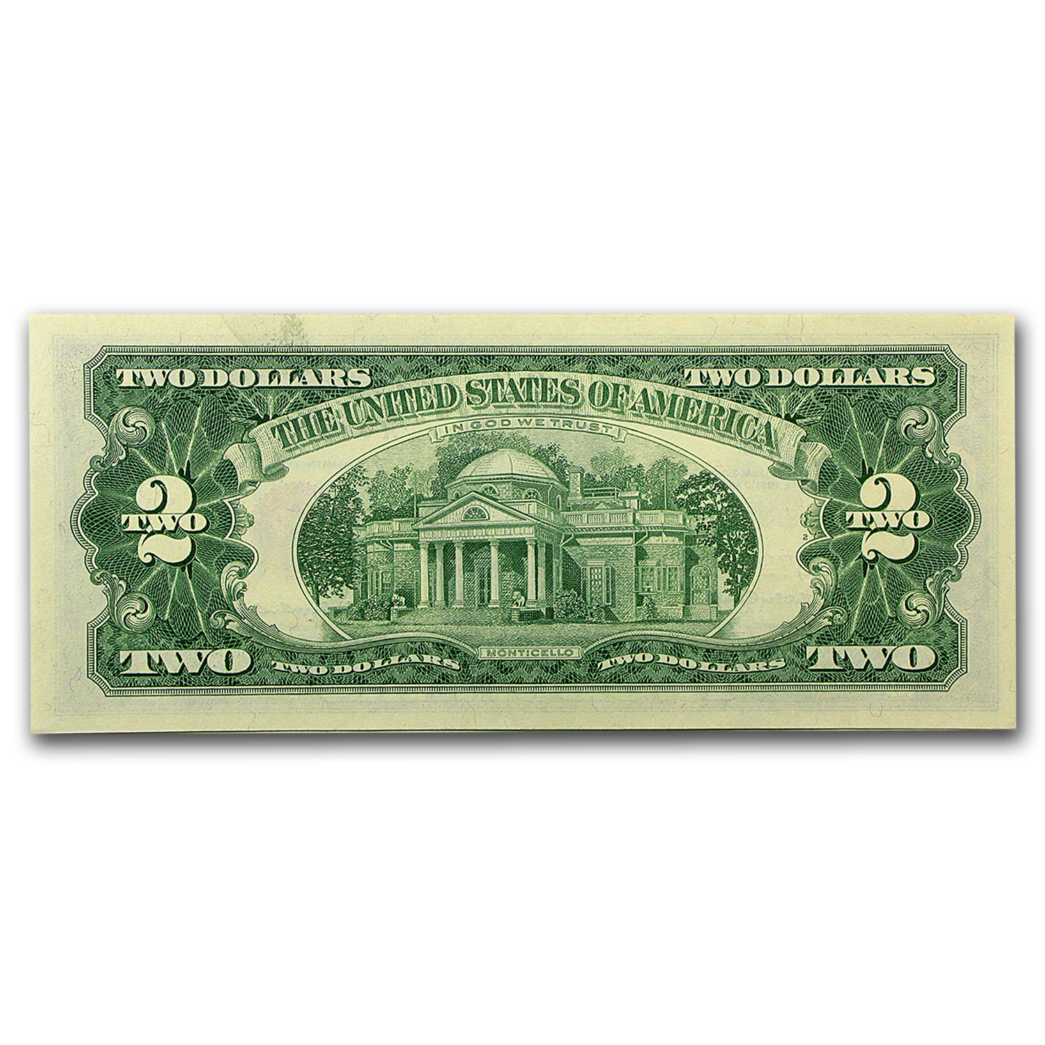 1963s $2.00 U.S. Notes Red Seal AU