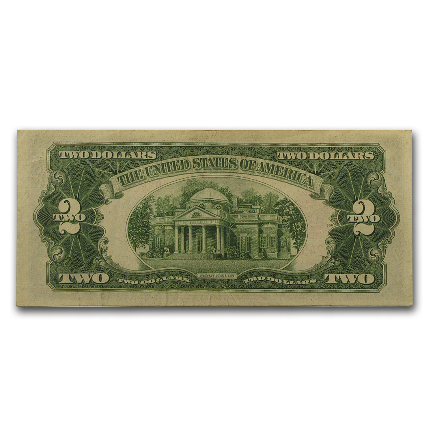 1928-C thru 1928-G $2.00 U.S. Notes Red Seal XF