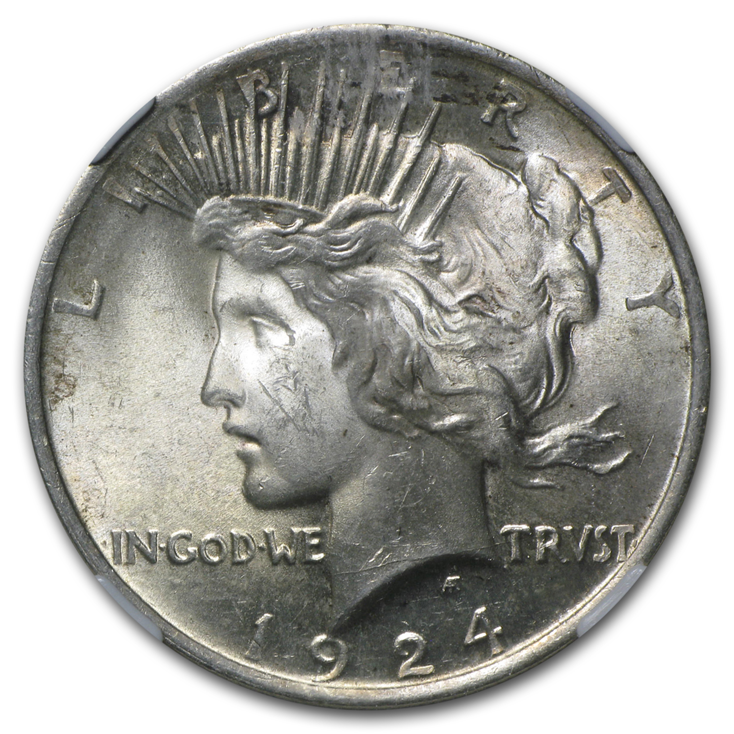 1924 Peace Dollar MS-63 NGC
