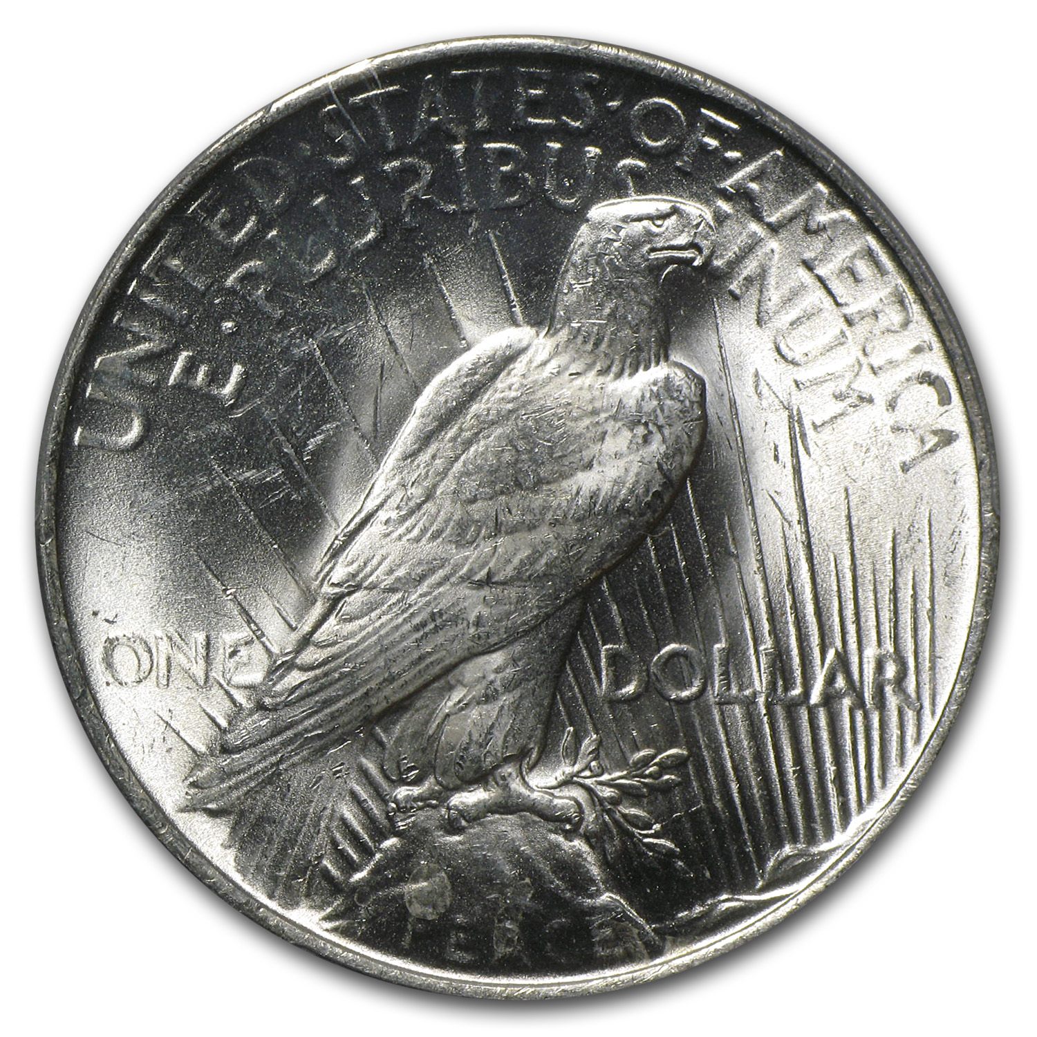 1922 Peace Dollar MS-64 PCGS
