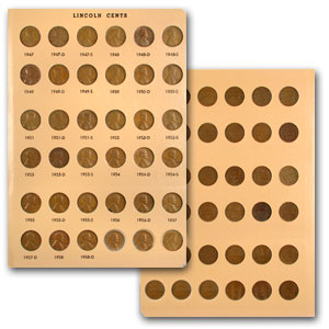 1909-2015 P,D,S Lincoln Cent Collection (Dansco Album)