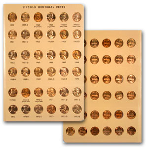 1909-2012 P,D,S Lincoln Cent Collection (Dansco Album)