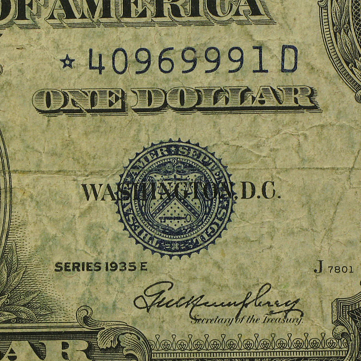 1935's* $1 Silver Certificates (Very Good - Very Fine) Star Notes
