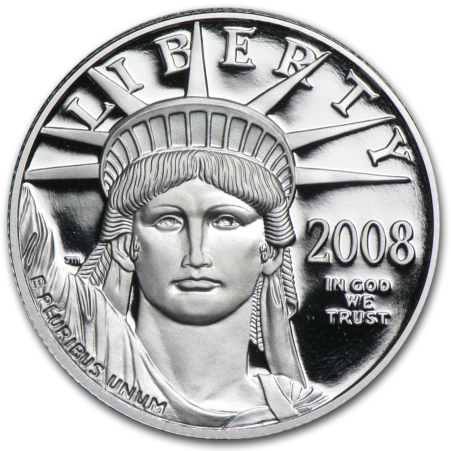 2008-W 1/2 oz Proof Platinum American Eagle (w/Box & COA)