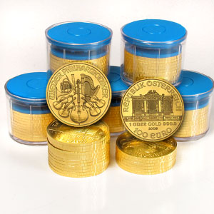 2009 1 oz Gold Austrian Philharmonic
