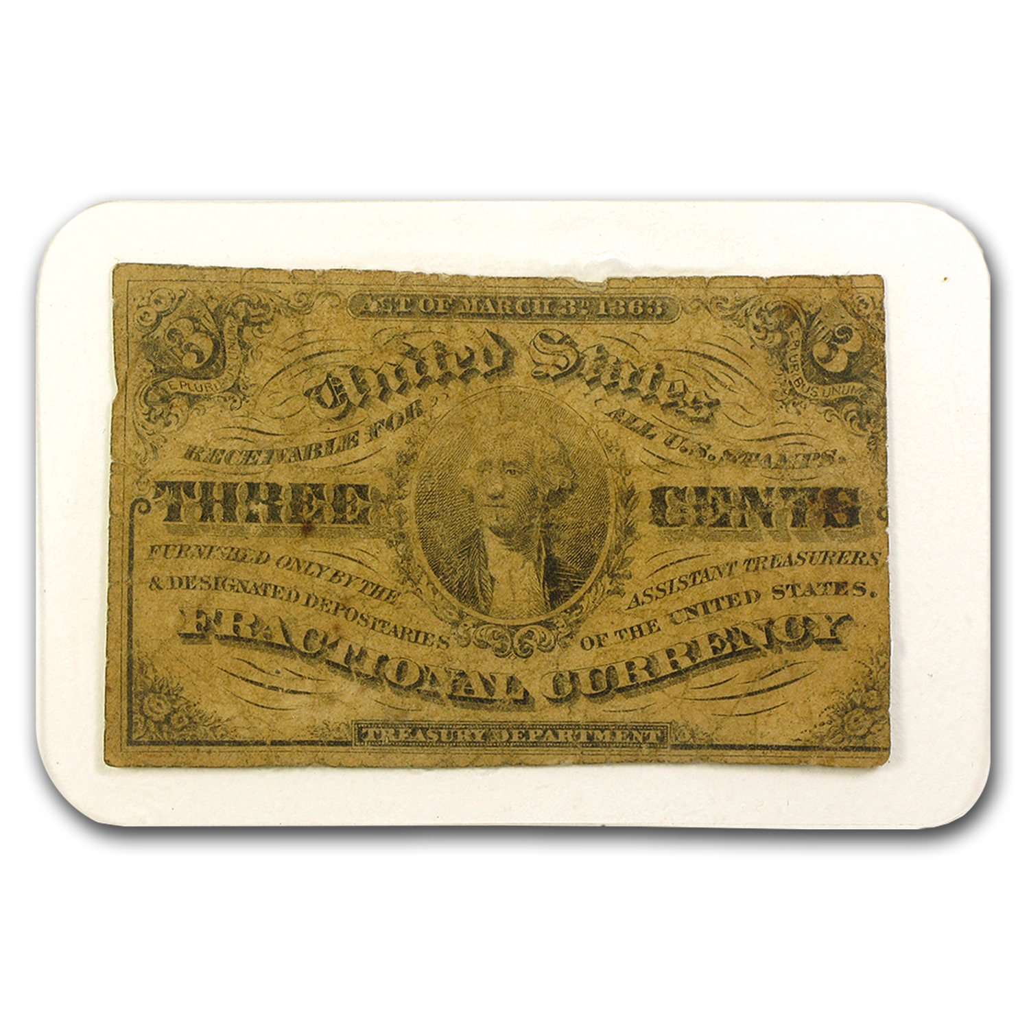 1862-1876 Fractional Currency All Denominations Culls