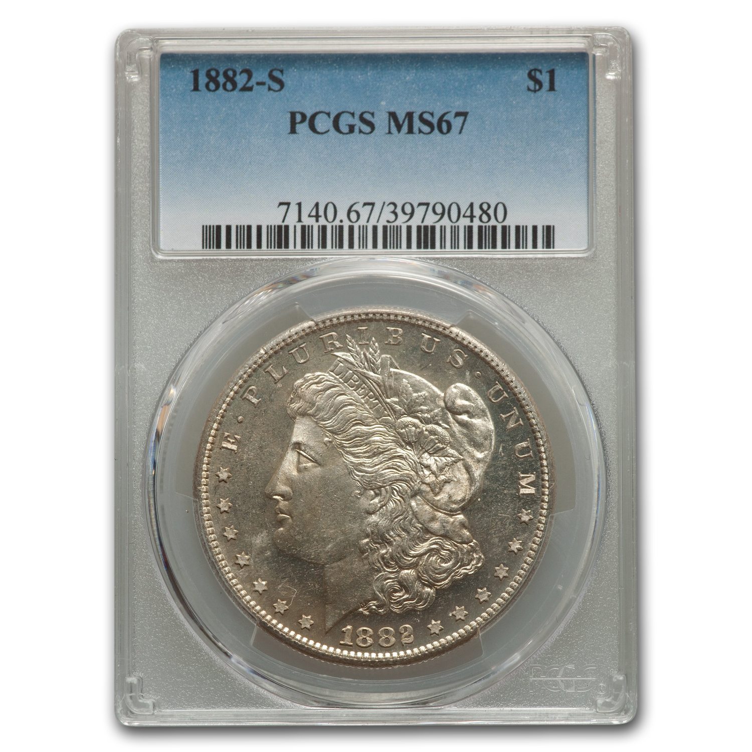 1882-S Morgan Dollar MS-67 PCGS