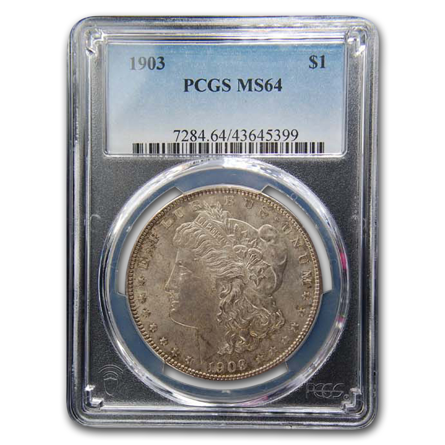 1903 Morgan Silver Dollar MS-64 PCGS