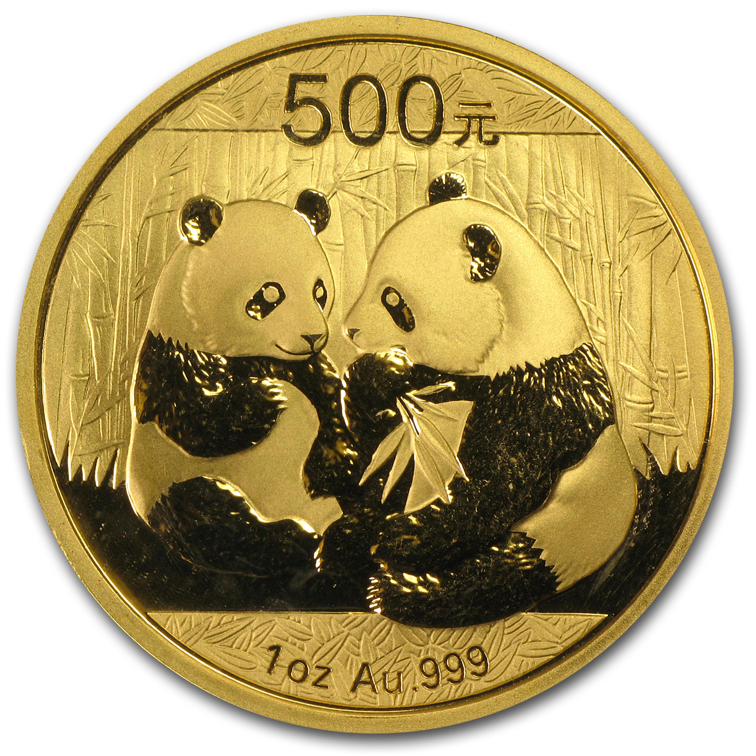 2009 China 1 oz Gold Panda BU (Sealed)