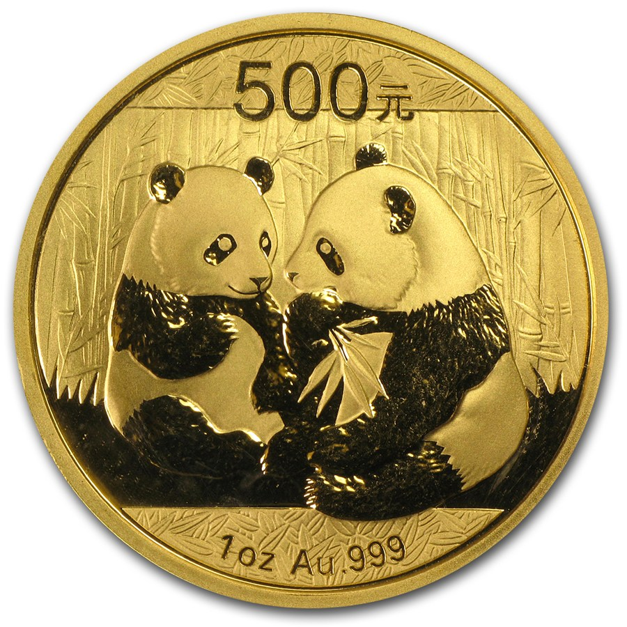 2009 China 1 Oz Gold Panda Bu Sealed 1 Oz Gold Pandas