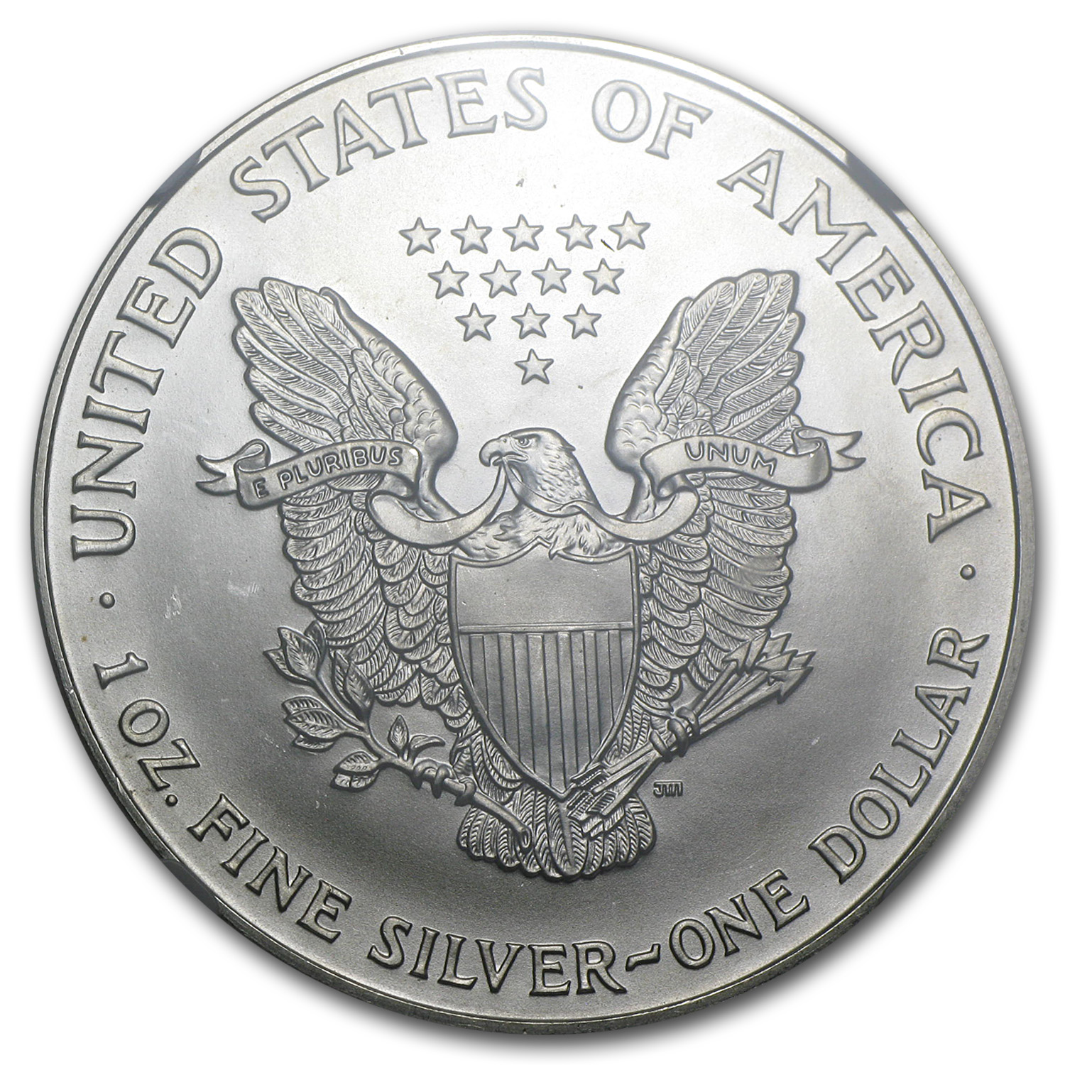 1999 Silver American Eagle MS-69 NGC