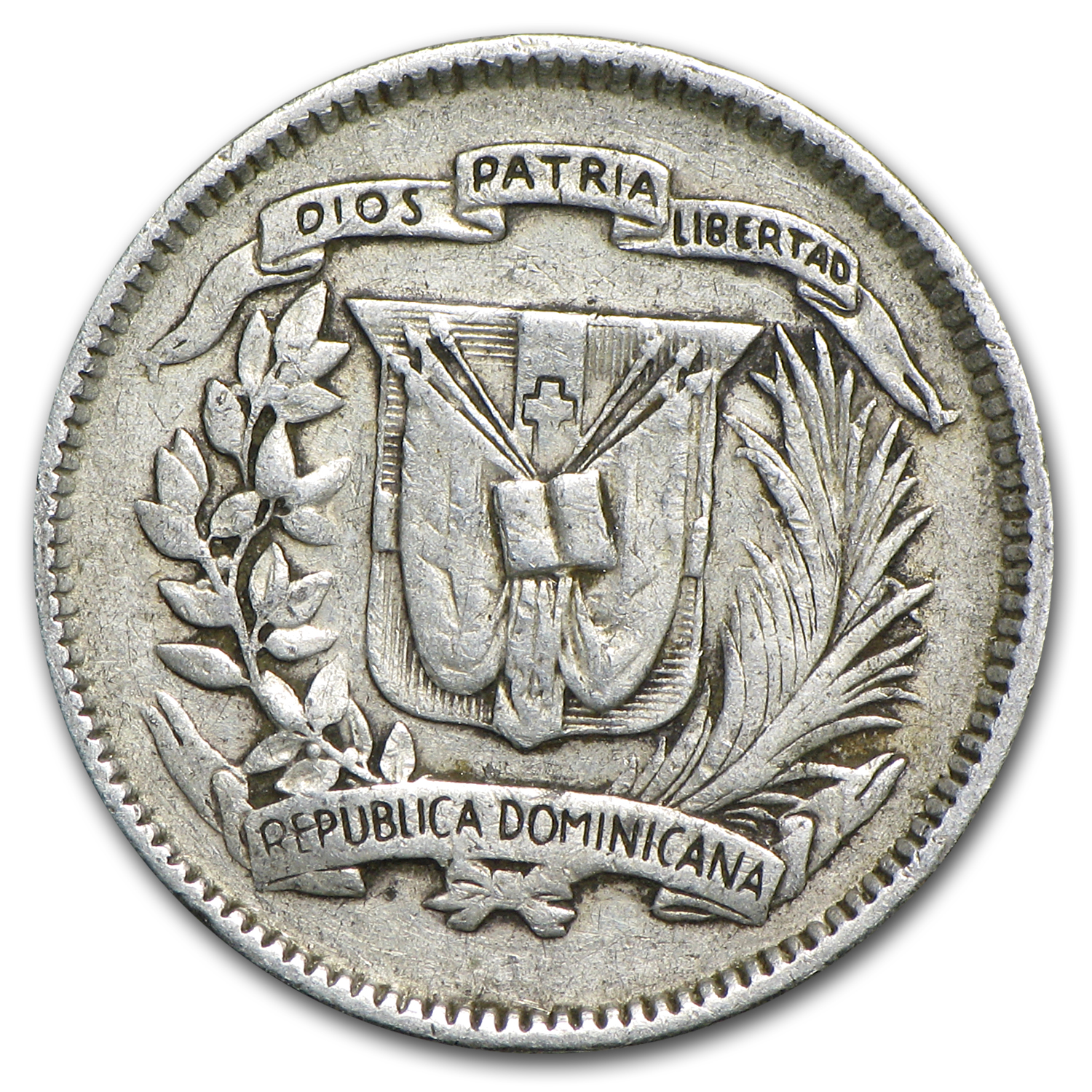 Dominican Republic 10 Centavos Avg Circ (Random Dates)