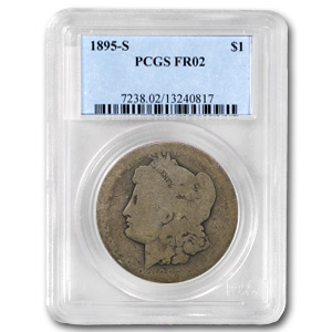 1895-S Morgan Dollar Fair-2 PCGS (Low Ball Registry)
