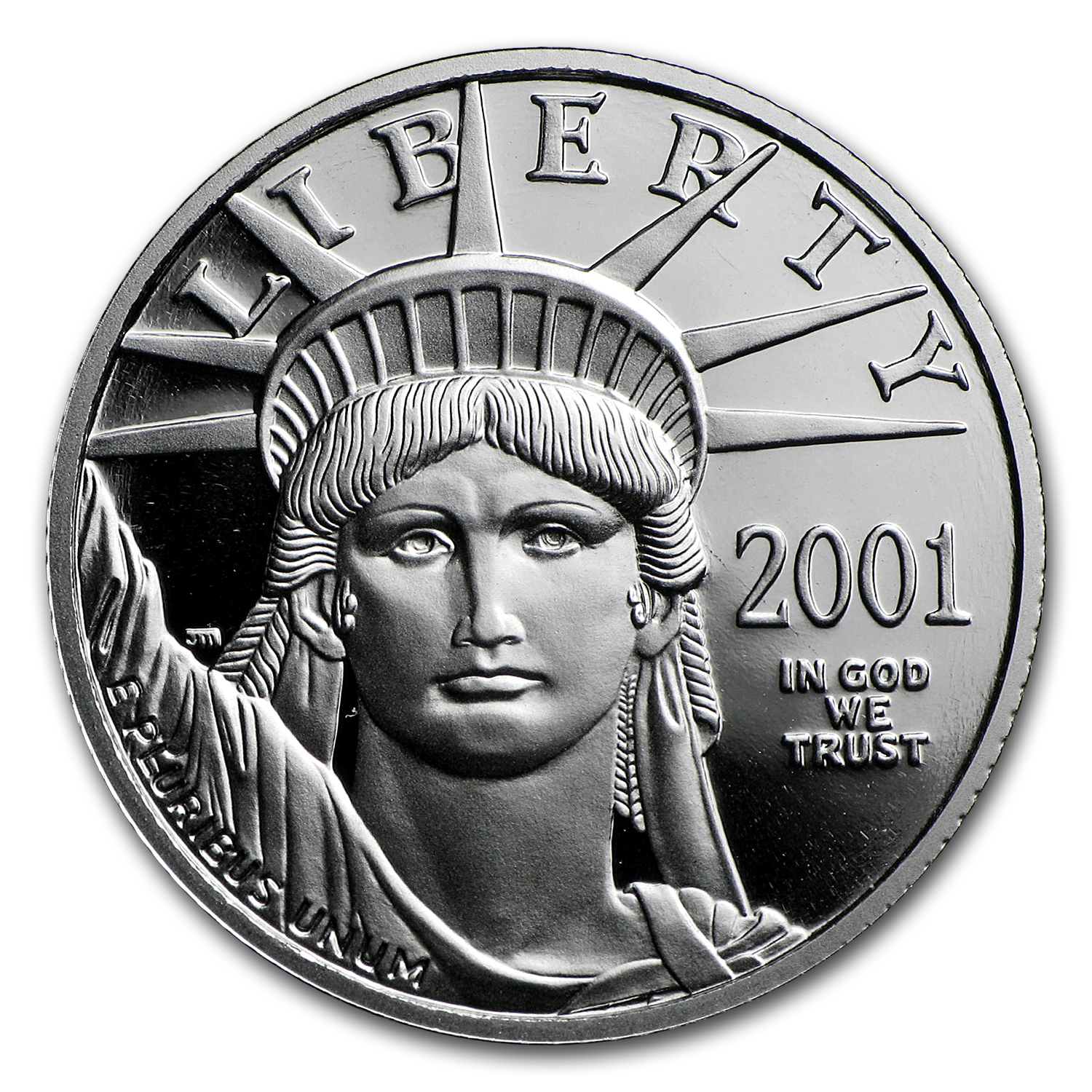 1/4 oz Proof Platinum American Eagle (Random Year, Capsule Only)