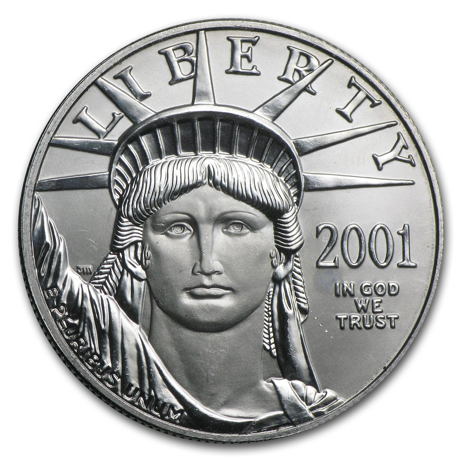 2001 1 oz Platinum American Eagle BU